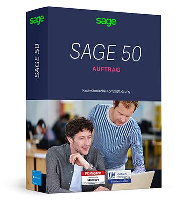 Sage 50 Auftrag Comfort Flex S - Software für Warenwirtschaft und Auftragsbearbeitung im Preisvergleich